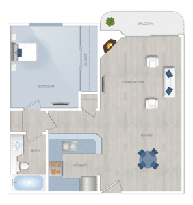 One bedroom Apartments for Rent in Burbank